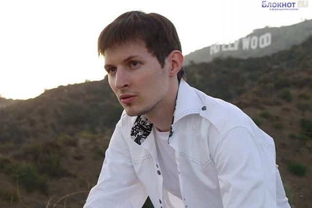 На Павла Дурова и