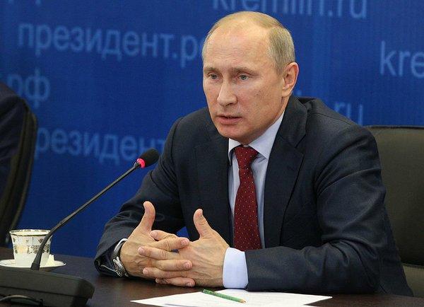 Путин: «белые» не допускали даже мысли о разделе России