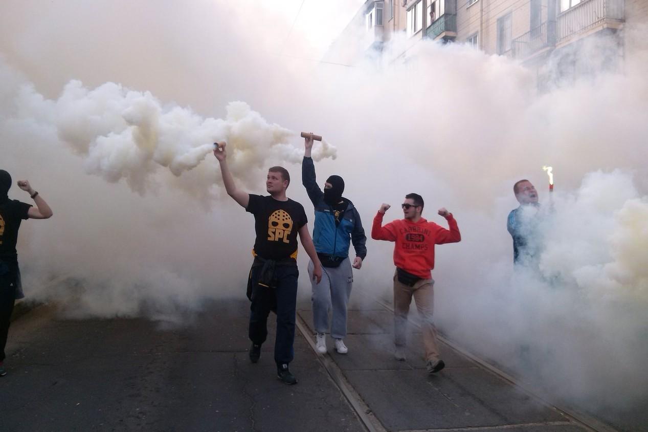 В Харькове митинг активистов Майдана перерос в беспорядки