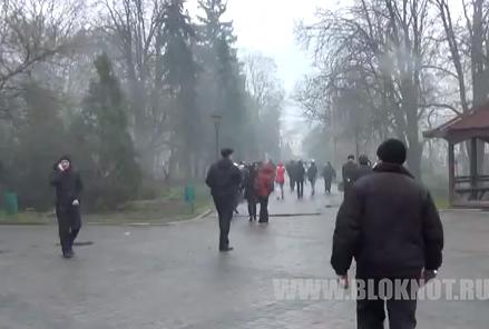 В Харькове стрельба