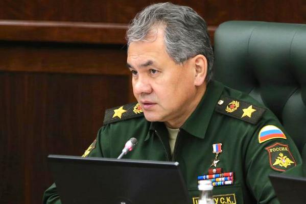 Шойгу: Российская армия начала учения в ответ на операцию против мирных граждан