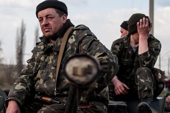 Донбасс. Солдаты тоже плачут