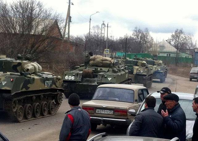Украинская армия ждет приказа на границе Харьковской и Донецкой областей