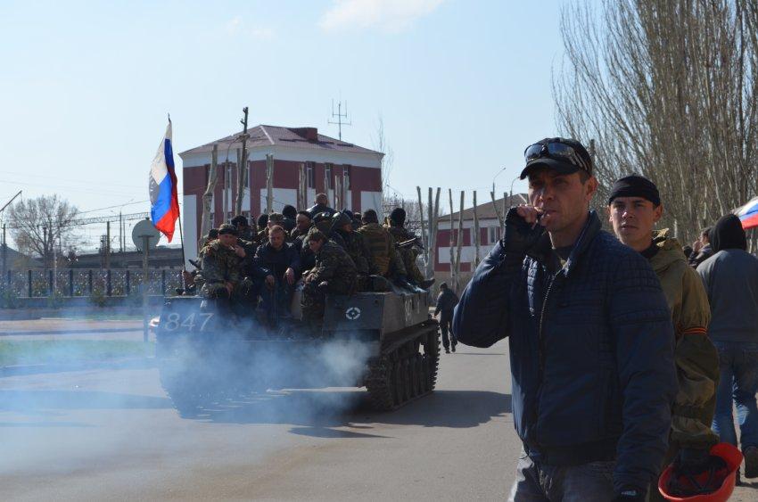 Украина прибегает к военной хитрости?