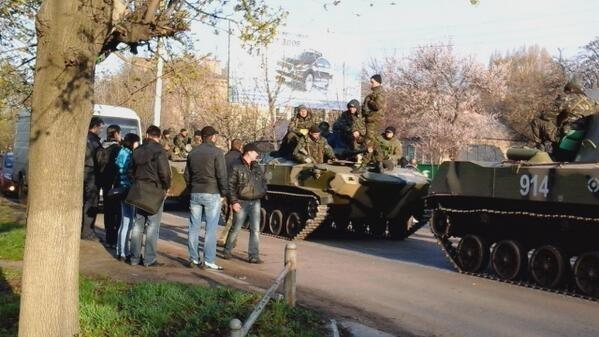 Минобороны Украины признало, что потеряло в Донецкой области шесть единиц бронетехники