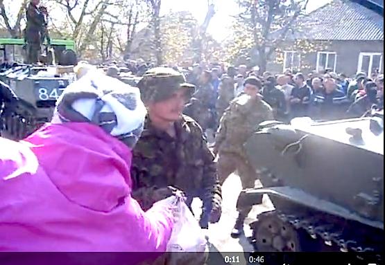 Украинская армия не кормила собственных солдат почти неделю
