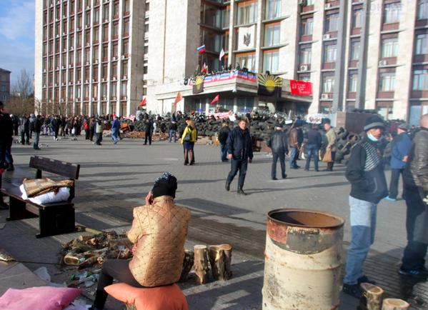 Мэр Донецка: новые власти виноваты в захвате зданий