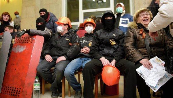 ЕС видит след России в восточно-украинском сепаратизме