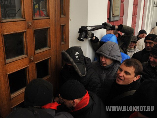 В Славянске отрицают начало штурма