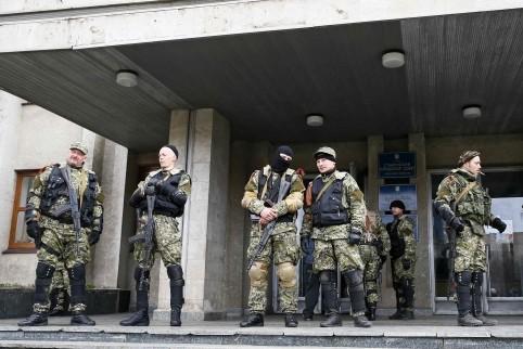 Неизвестные расстреляли блокпост в Донецкой области