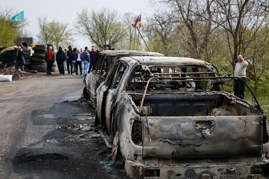 Народный мэр  Славянска сообщил подробности нападения на блокпост