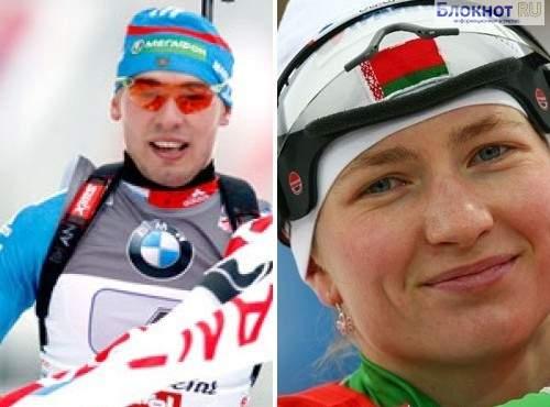 Шипулин и Домрачева победили в биатлонной Гонке чемпионов в Москве