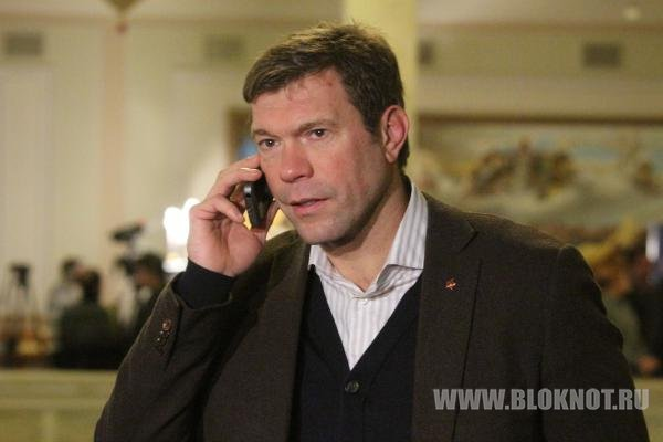Боевики заблокировали кандидата в президенты Украины Олега Царева