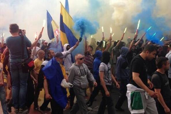 В Донецке задержаны пятеро активистов «Правого сектора»