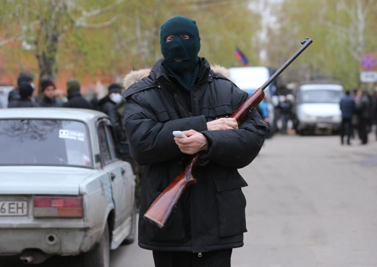 В Славянске убито 52 боевика Правого сектора