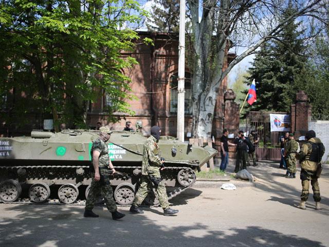 В Славянске задержаны 40 украинских диверсантов