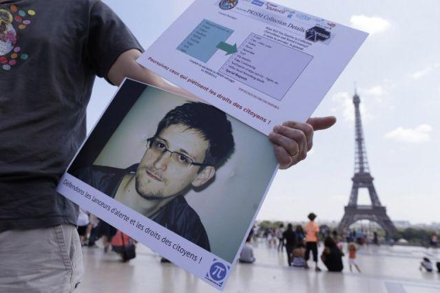 Эдвард Сноуден в прямом эфире задал вопрос Путину