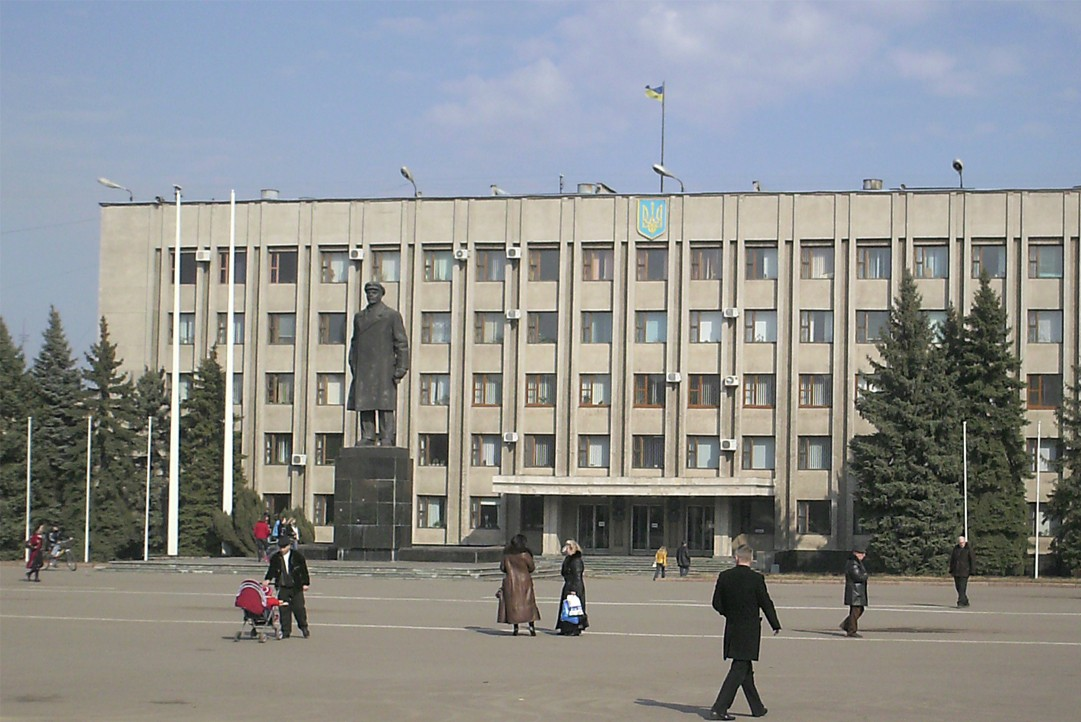 Митингующие захватили здание Донецкого горсовета