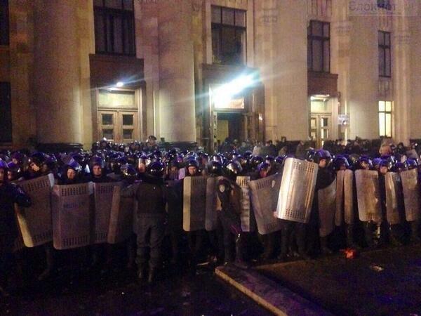 МИД РФ предостерег Украину от применения силы к пророссийским активистам