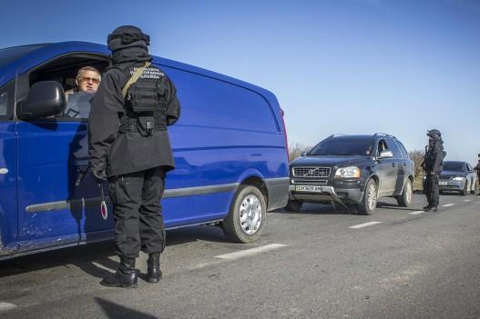 Херсонская область строит блокпосты, отгораживаясь от Крыма