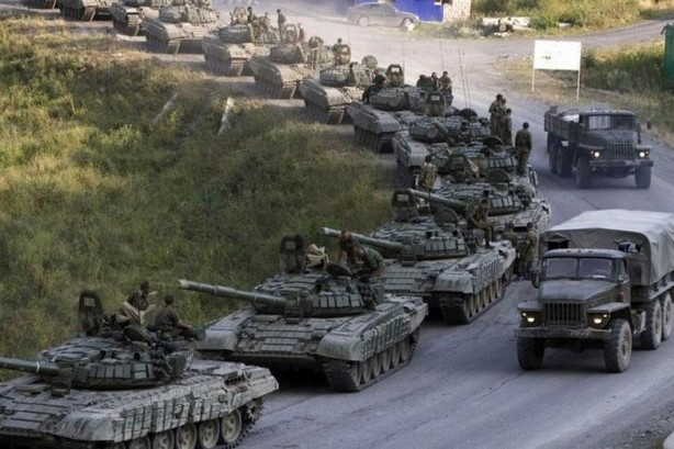 В сторону Славянска направляется военная техника