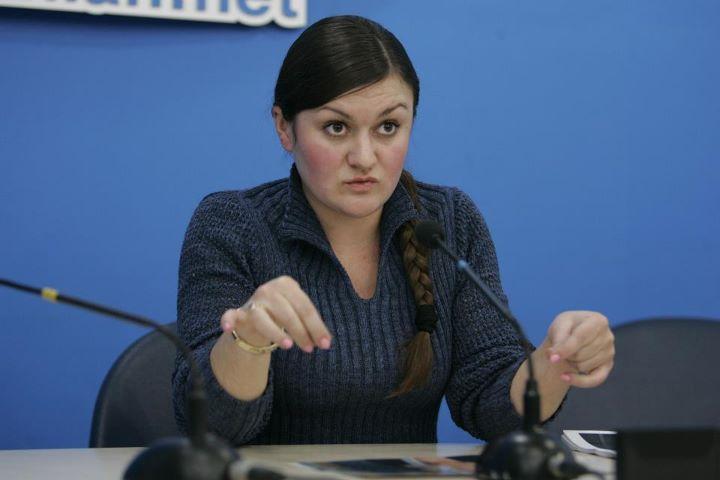 Народные ополченцы задержали в Славянске активистку Майдана Крат