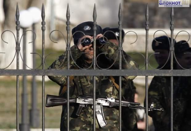 На воинскую часть в Крыму напали хулиганы