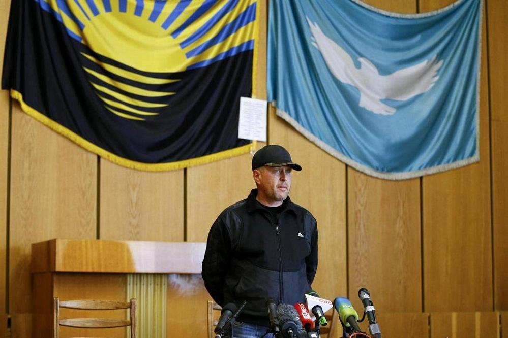Народный мэр Славянска Пономарев заявил, что боевики «Правого сектора» пытаются просочиться в город