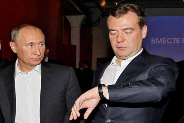 Медведев не хочет возвращать россиянам «зимнее» время?