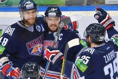 Российский «Металлург» победил чешского «Льва»
