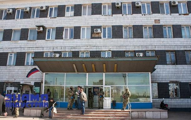 Милиция перешла на сторону ополчения Донбасса