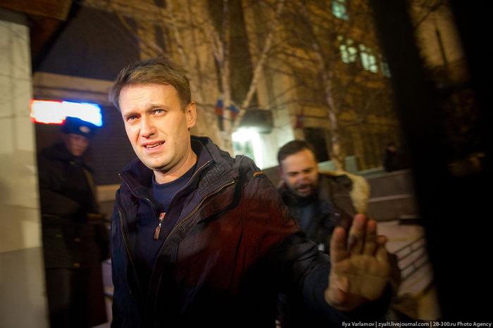 Алексей Навальный в тюрьму не сядет