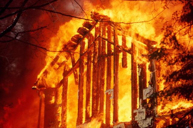 В Хакасии во время пожара погибли пять человек