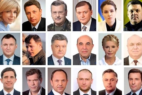На выборах президента большинство опрошенных готовы поддержать Порошенко