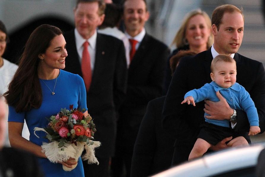 Кейт Миддлтон при всех высмеяла лысину принца Уильяма