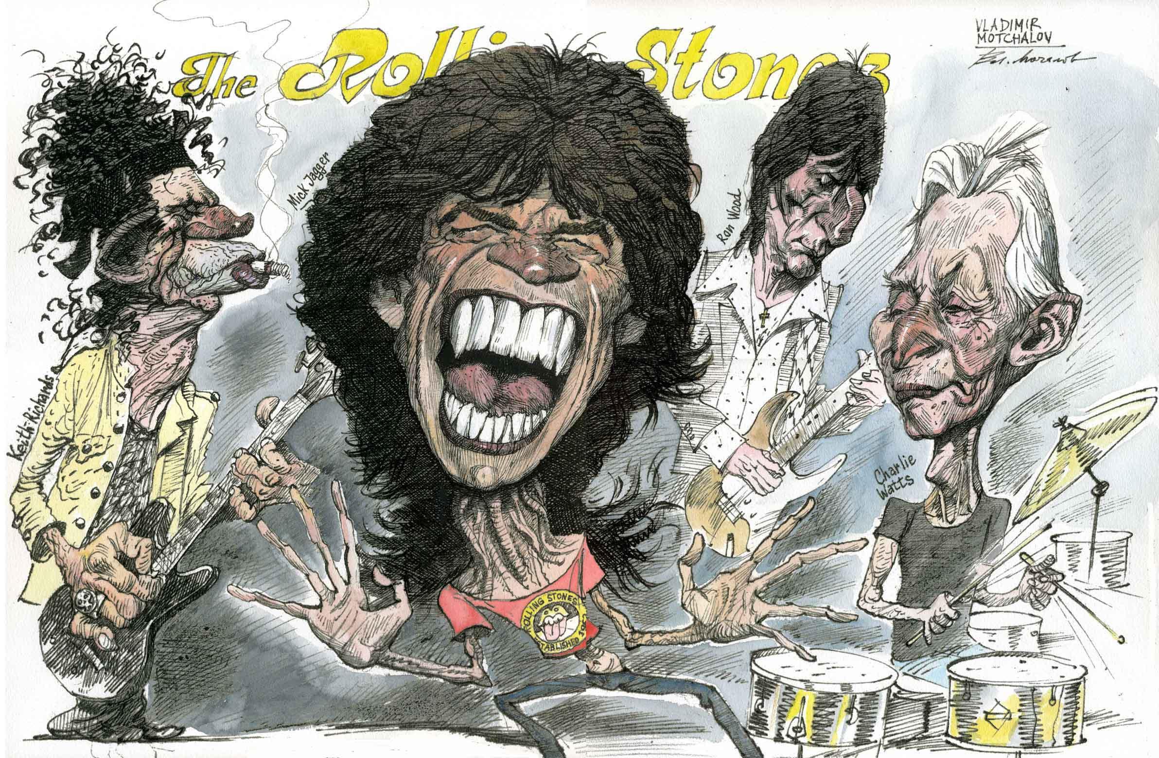 The Rolling Stones и Острый карандаш Владимира Мочалова