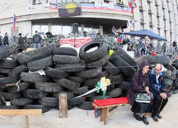На Востоке Украины начинается гуманитарная катастрофа