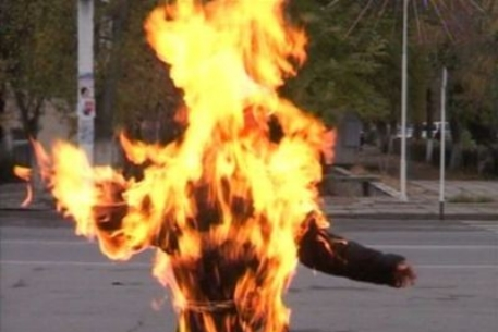 В Хакасии мужчина совершил самосожжение на глазах матери
