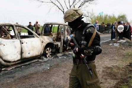 В Славянске задержан участник расстрела мирных граждан