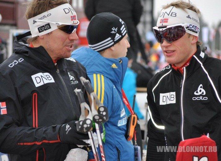 Знаменитые биатлонисты Свендсен и братья Бё лишены премий за пьянство