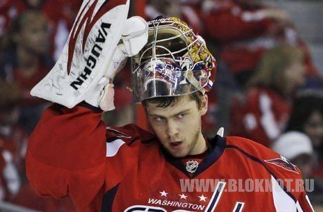 Хоккеист Варламов стал самым побеждающим вратарем НХЛ