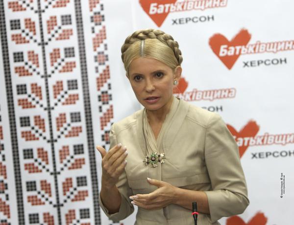 Тимошенко тайно прилетела в Донецк