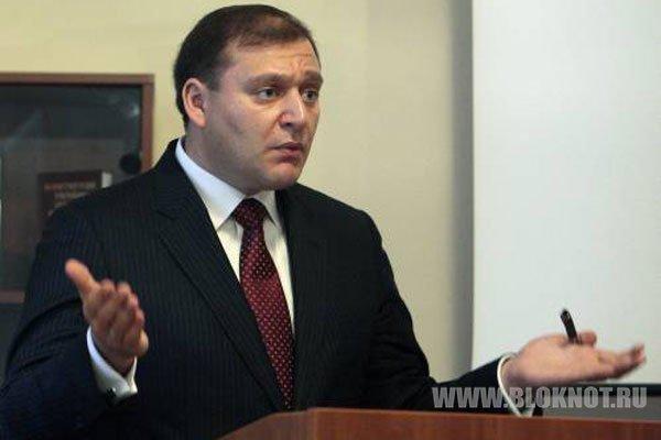 В Луганске избили и освистали кандидата в президенты Михаила Добкина