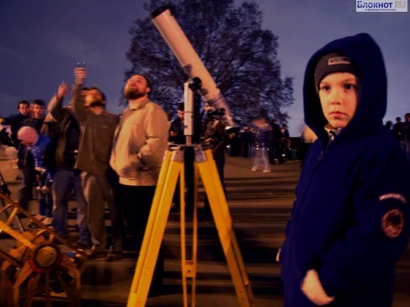 Иркутян приглашают на вечер тротуарной астрономии