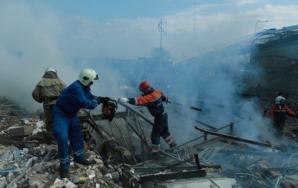 Названа предположительная причина взрыва АЗС под Киевом