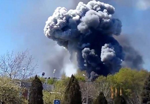 Ополченцы: Вертолет в Краматорске взорвали мы