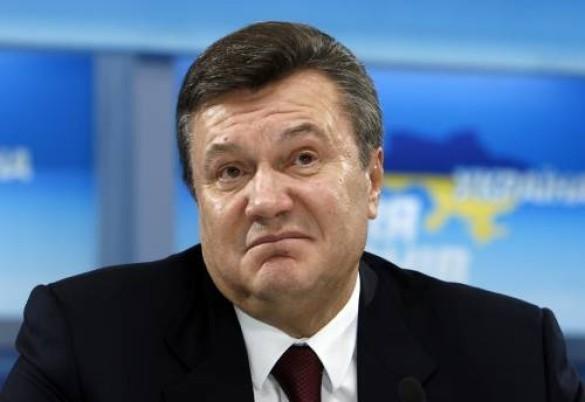 На Украине Януковича обвинили в покушении на государственный строй
