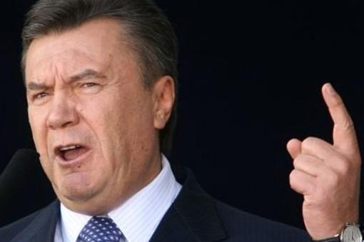 Янукович призвал отвести украинские войска с востока страны