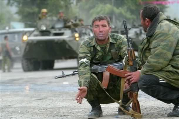 Осетия едет на Украину. Кто против Путина, тот против нас.