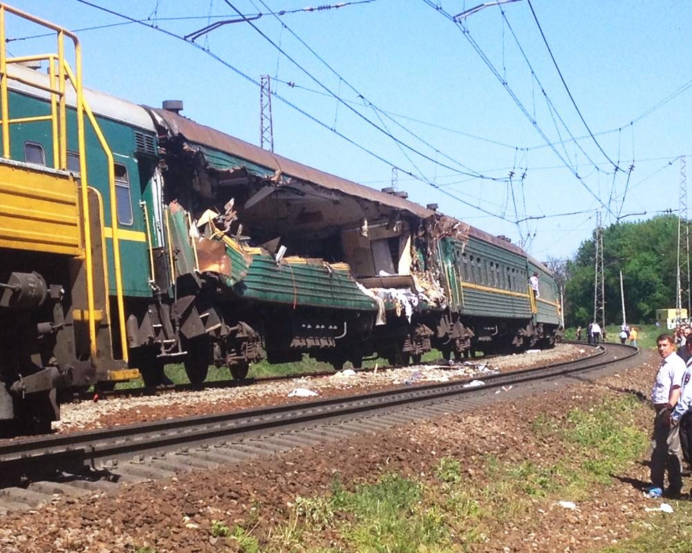 Установлена причина крушения поездов на перегоне Нара- Бекасово-1